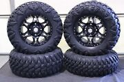Can Am Renegade 500 27 Street Legal Tire And 14 Hd7 Smoke Wheel Kit Can1ca