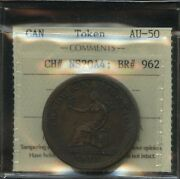 Br. 962 Trade And Navigation One Penny Token 1815 - Ch Ns-20a4. Iccs Au-50
