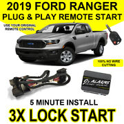 2019 Ford Ranger Truck Remote Start Plug And Play Easy Install Car 3x Lock Fo2 G