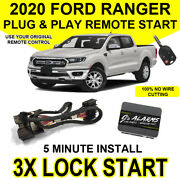 2020 Ford Ranger Truck Remote Start Plug And Play Easy Install Car 3x Lock Fo2 G