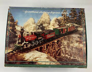 Greatland Holiday Express Battery Operated Train Set Red Original Box