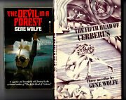 The Fifth Head Of Cerberus 1st Us/the Devil In A Forest Signed By Gene Wolfe