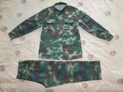 Used 07and039s Series China Pla 2nd Artillery Digital Camo Combat Jacket、pantswinter