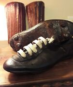 Unique Football Shoes And Leather Shinguards From 1960s