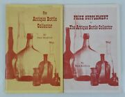 The Antique Bottle Collector And Price Supplement Books By Grace Kendrick 1965