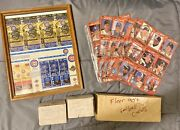 Sports Collection Lot 10 Pieces Basketball And Baseball Cards And Tickets