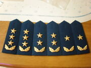 07and039s Series China Pla Air Force General Full Dress Hard Shoulder Boards3 Pair