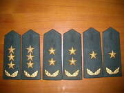 07and039s Series China Pla Army General Full Dress Hard Shoulder Boards3 Pairset