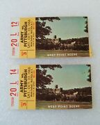 2 Army Vs Pittsburgh Football Game Ticket Stub 1966 Michie Stadium West Point Ny