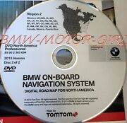 Authentic Bmw X3 X5 E53 Z4 Navigation Dvd Cd 699 West Map Update Andcopy 2015 Oem