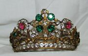 Couronne Pour Statues Religieuses Ancienne 19 Andegraveme Siecle / Religious Crown