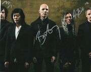A Perfect Circle Signed 8x10 Photo Howerdel, Mcjunkins, Friedl 2
