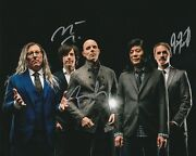 A Perfect Circle Signed 8x10 Photo Howerdel, Mcjunkins, Friedl 4