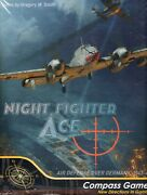 Compass Games Nightfighter Ace Air Defense Over Germany 1943-44 Solitaire