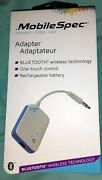 Mobilespec Bluetooth Adapter W/recharchable Battery Mbs13150