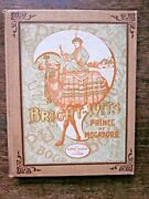 1909 Bright-wits Of Mogadore Childrens Game Puzzle Book Old Antique Rare