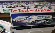 Hess Truck New Toy Truck And Airplane New 2002 Box