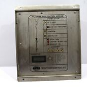 Tech Power Control D13h00001 Iso-drill Scr2 Control Module Without Knobe