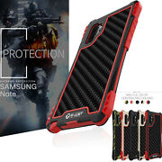 Cool Heavy Duty Armor Rugged Metal Rubber Gel Case Cover For Samsung Note10 Plus