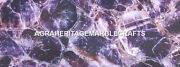 Marble Dining Center Table Top Amethyst Agate Random Decorative Home Gift H5579