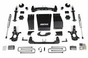 Bds 4 Lift And Fox 2.0 Shocks For 14-18 Chevy/gmc 1500 W/ Cast Steel Control Arms