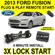 2013 Ford Fusion Remote Start Car Starter Plug And Play System Hybrid And Gas Fo2f