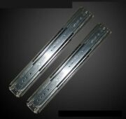 One Pair 3 Inches Width Side Mount Drawer Extension Standard Drawer Slides Steel