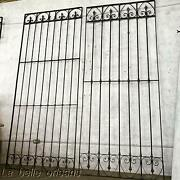 Early 1900and039s Spanish Wrought Iron Decorative Panels / Gates/ Window Guards