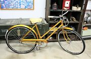 1960and039s Three-speed Dunelt Bicycle Made In England With Sheffield Steel