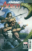 Savage Avengers 6 Conan Punisher Team Up Elektra Wolverine Finch Cover Nmm 2019