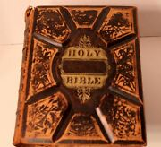 Antique Holy Bible With Revised New Testament-pre Owned-the Perfect Edition