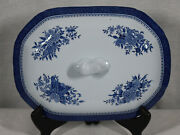 Discontinued Replacement Spode Fitzhugh Pattern Vegetable Lid / Cover Only