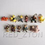 Bandai Final Fantasy Vii Sd Figure Keychain Vol.1 And 2 Complete Set Of 11