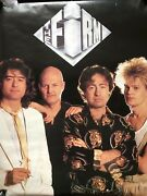 The Firm Jimmy Page, Paul Rodgers Debut Rare Original Promo Poster 1985