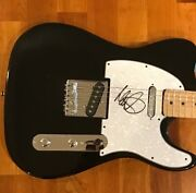 Mike Peters Signed Autographed Electric Guitar The Alarm 1