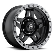4 20x9 Fuel Matte Black Anza Wheels 5x150 For Toyota Landcruiser And Tundra