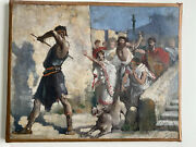 Exceptional Early 20th Century French Painting In The Academic Style