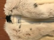 Evans Collections Full Length Mink Coat Above Feet With Fox Trim