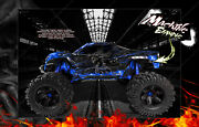 Traxxas X-maxx Graphics Wrap And039hell Rideand039 Fits Stock And Pro-line Brute Bash Raptor