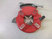 Bmc Tools 811a Quick Opening Die Head With 1/2-3/4 Hss Dies For Ridgid 300 535