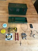 Union Steel Chest Corp. Green Utility Chest W/key Removable Trayandfishing Tackle