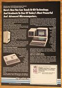 Vintage ad For Heathkit/zenith Computer Systems