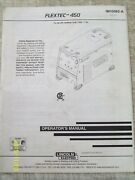 Lincoln Electric Flextec-450 Operator's Manual Welding Im10062-a
