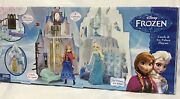Disney Frozen Castle And Ice Palace Playset, 2 Castles In 1,10+ Pcs. + Olaf