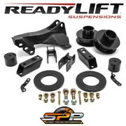 Readylift 2.5in Front Coil Spacer Track Bar Bracket Fits 2017-2019 F250 F350