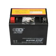 Ytx12-bs High Performance - Maintenance Free - Sealed Motorcycle Battery + Bolts