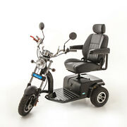 Trident American Hot Rod 3 Wheel Electric Mobility Scooter Andndash 23 St. Capacity