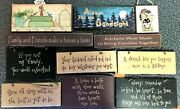 Wooden Hanging Wall Signs And Plaques Funny Love Humor Family Friends Kitchen Kiss