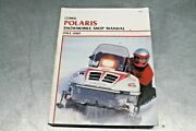 Nice Clymer Shop Manual For 1984-1989 Polaris Snowmobiles Used