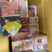 Sailor Moon First Lottery Pocket Watch Last One Glass Figure Towel He
